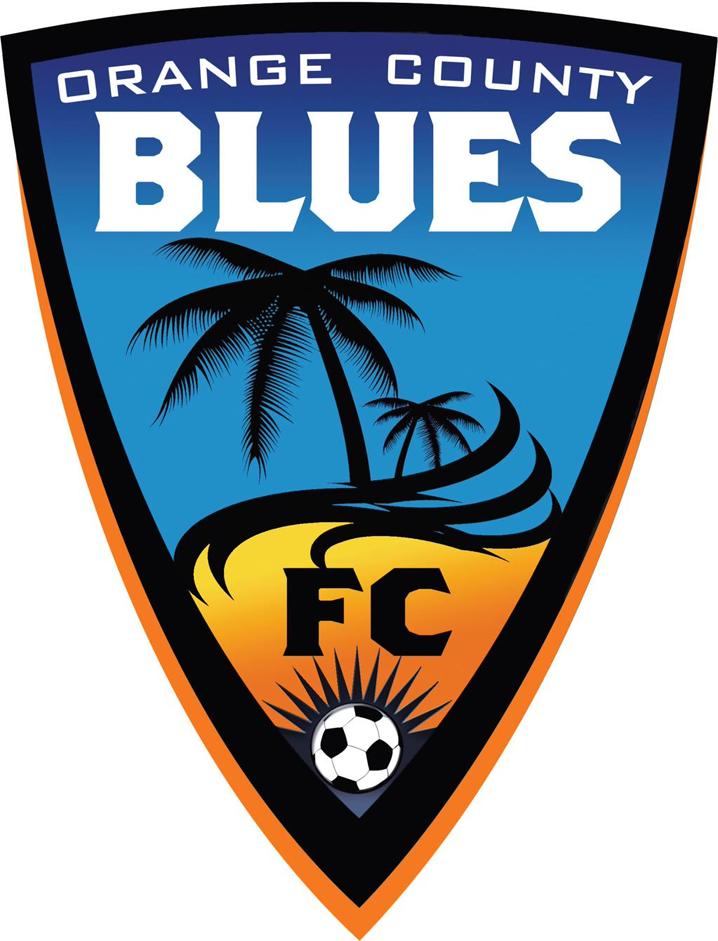 Orange County Blues FC Logo Primary Logo (2015-2016) -  SportsLogos.Net