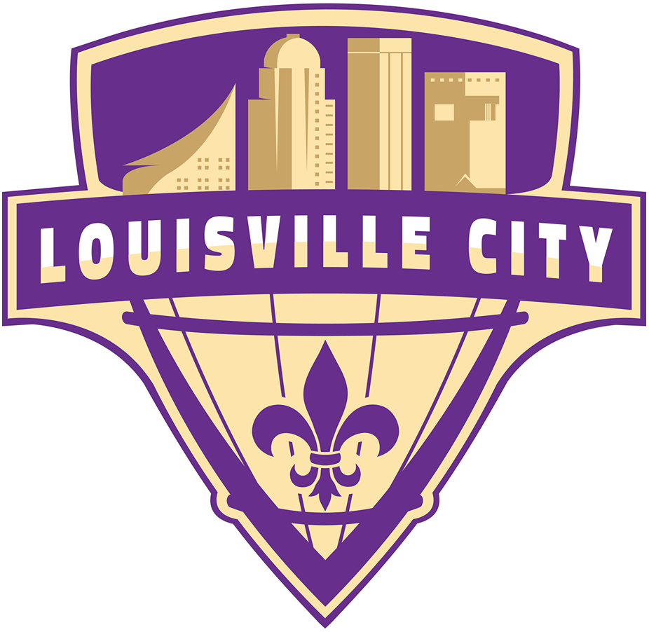 Louisville City FC Logo Primary Logo (2015-2019) - After the unveiling of the team's original logo was met with harsh critisism on social media, the team held a logo design contest. The winning logo design by Michael Manning was announced on June 22nd as the team's new crest. SportsLogos.Net