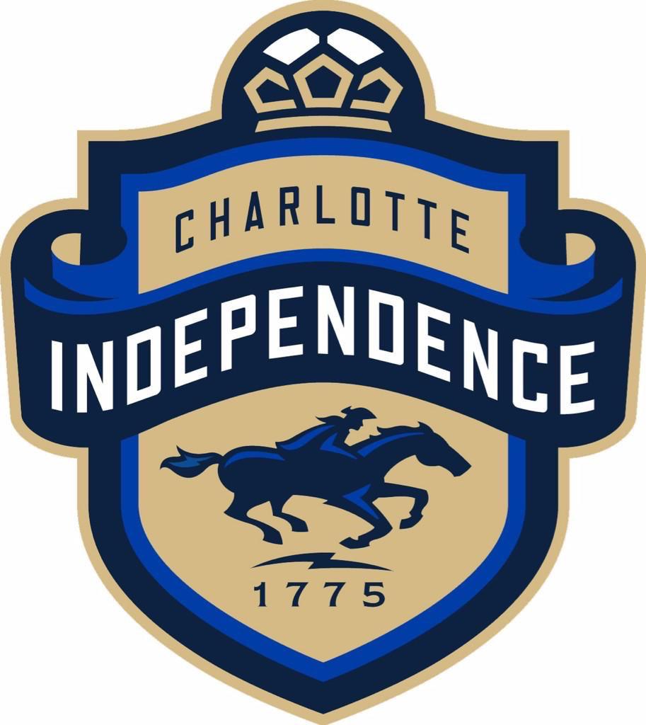 Charlotte Independence Logo Primary Logo (2015-Pres) -  SportsLogos.Net