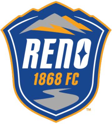 Reno  1868 FC Logo Primary Logo (2017-Pres) -  SportsLogos.Net