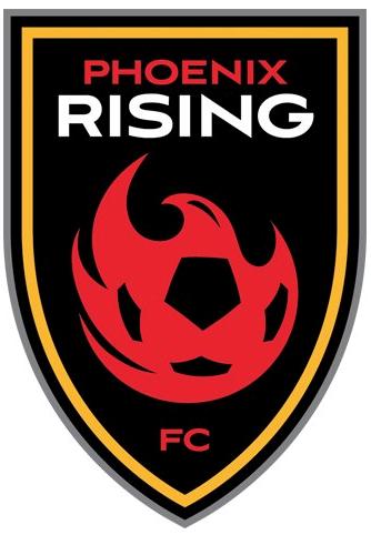 Phoenix Rising FC Logo Primary Logo (2017-Pres) -  SportsLogos.Net