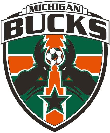 Michigan Bucks Logo Primary Logo (2013-2014) -  SportsLogos.Net