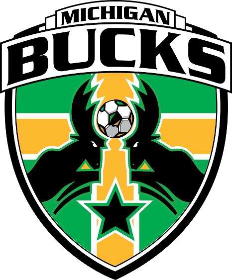 Michigan Bucks Logo Primary Logo (2007-2012) -  SportsLogos.Net