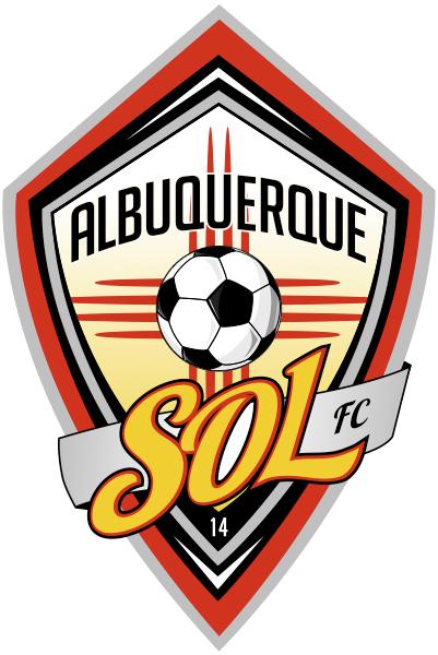Albuquerque Sol FC Logo Primary Logo (2014-Pres) -  SportsLogos.Net