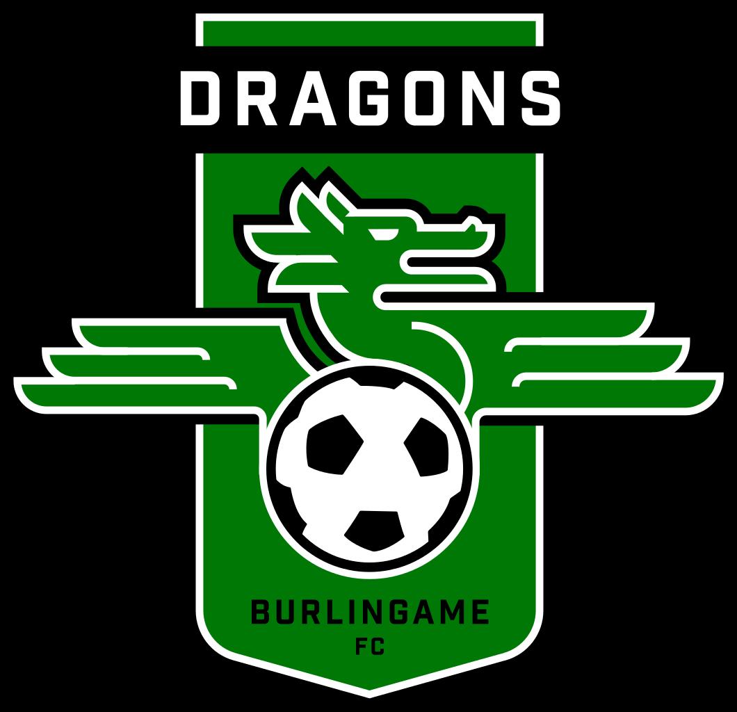Burlingame Dragons FC Logo Primary Logo (2014-Pres) -  SportsLogos.Net