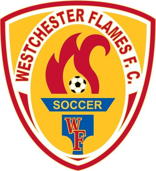 Westchester  Flames FC Logo Primary Logo (2013-Pres) -  SportsLogos.Net