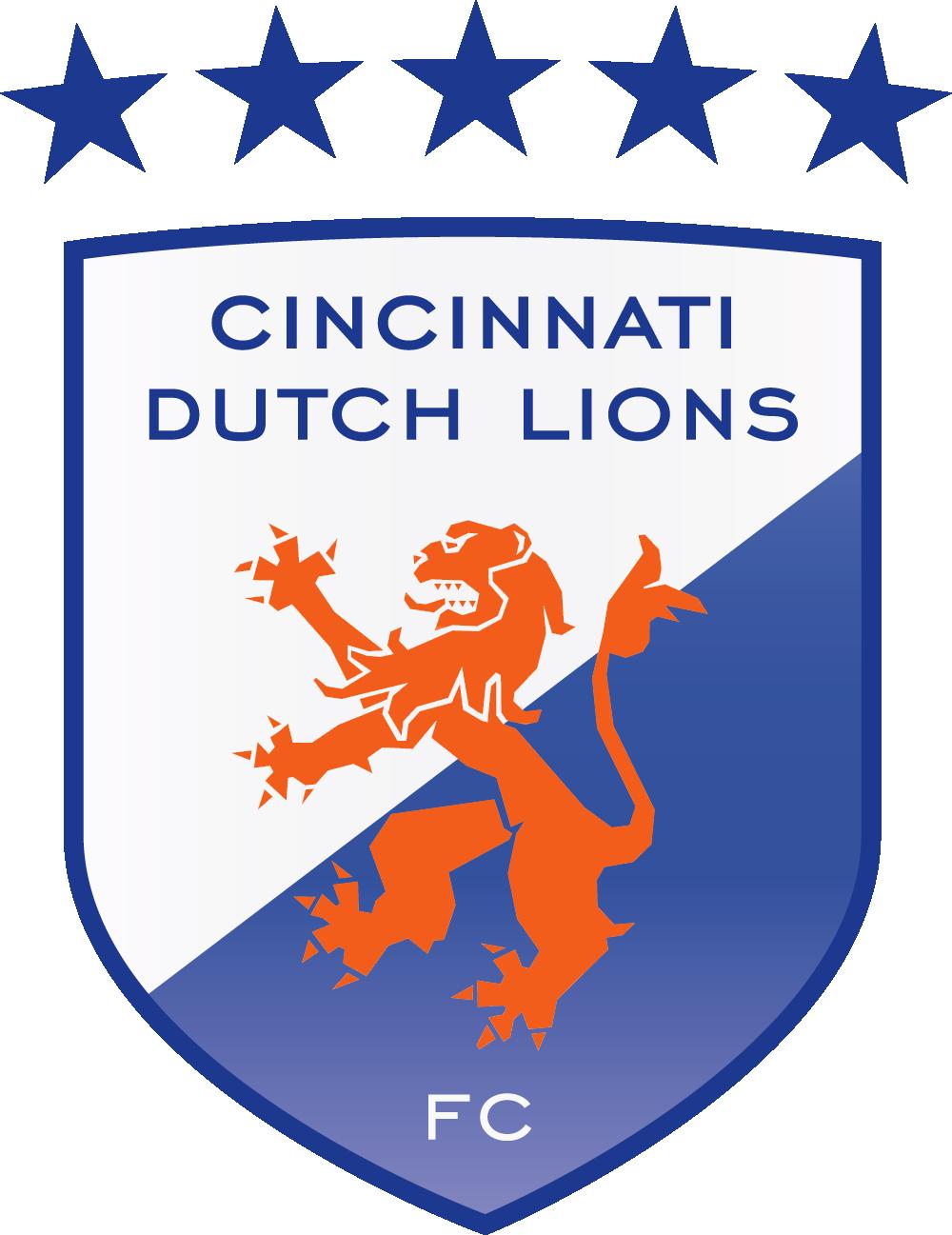 Cincinnati Dutch Lions Logo Primary Logo (2014-Pres) -  SportsLogos.Net