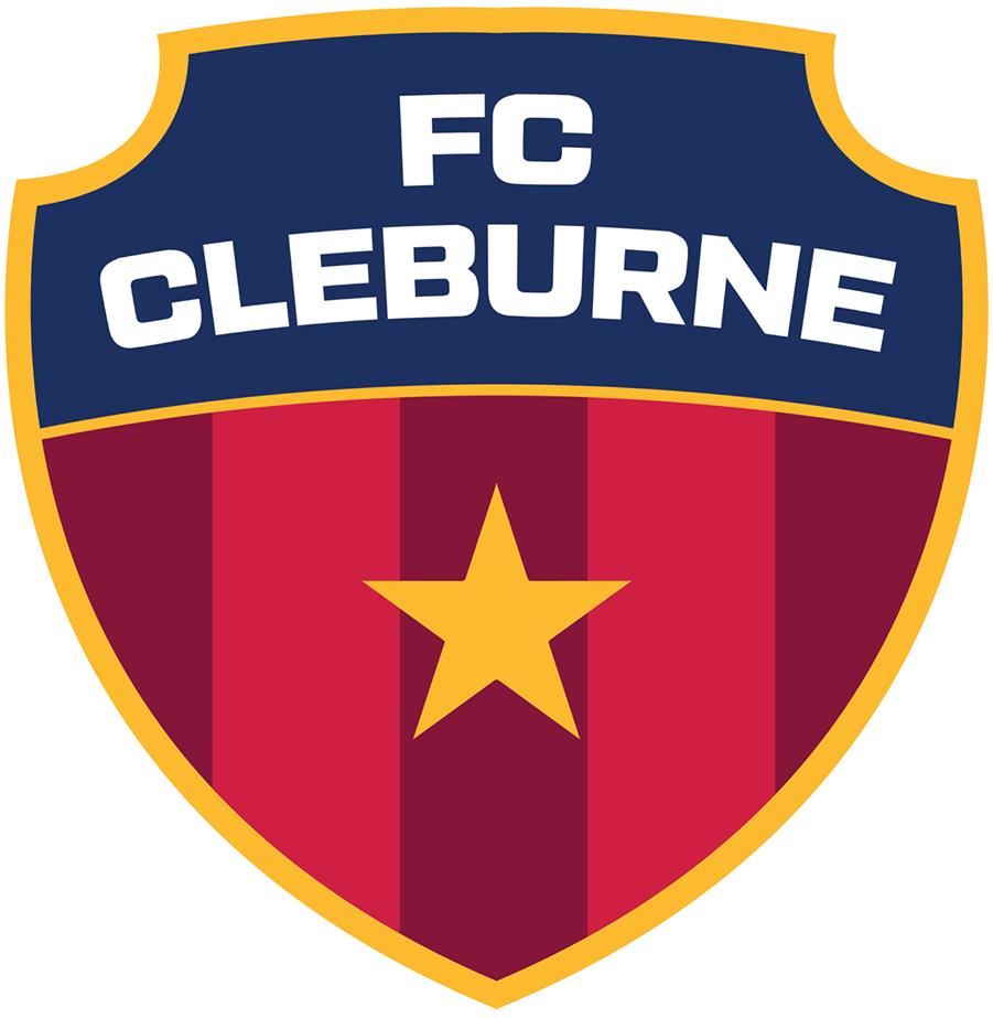 FC Cleburne  Logo Primary Logo (2017-Pres) -  SportsLogos.Net