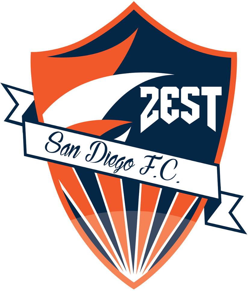 San Diego Zest FC Logo Primary Logo (2016-Pres) -  SportsLogos.Net