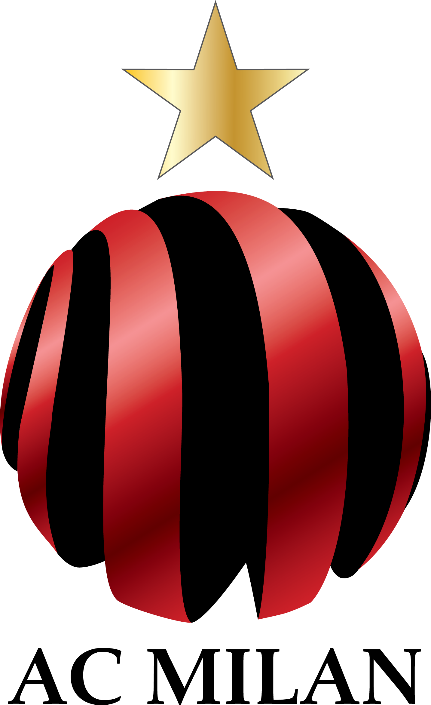 AC Milan Logo Alternate Logo (2000-Pres) -  SportsLogos.Net