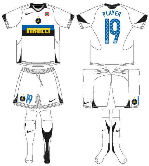 Internazionale Milan Uniform Road Uniform (2005-2006) -  SportsLogos.Net