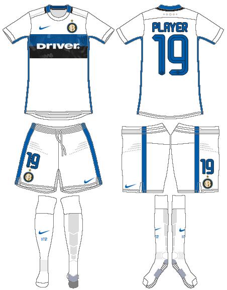 Internazionale Milan Uniform Road Uniform (2015-2016) -  SportsLogos.Net