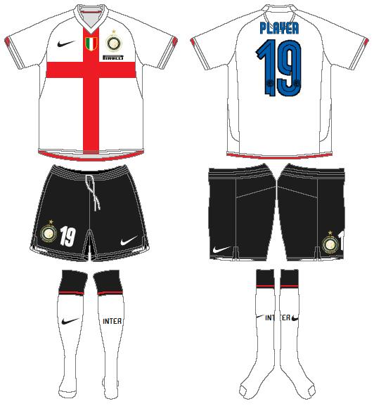 Internazionale Milan Uniform Road Uniform (2007-2008) -  SportsLogos.Net