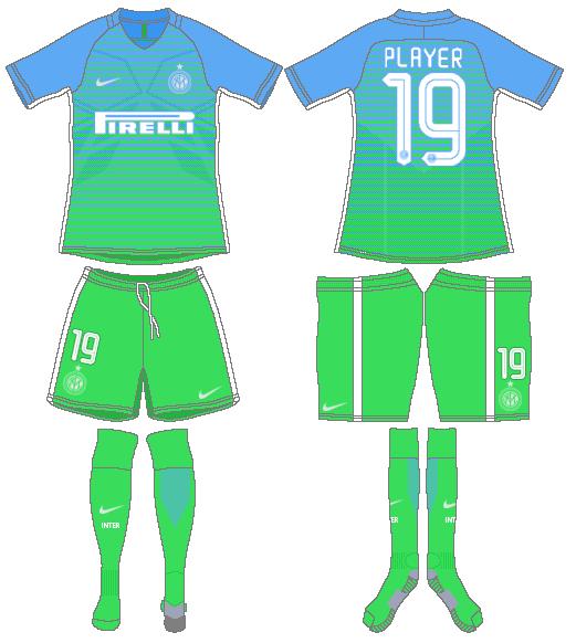 Internazionale Milan Uniform Alternate Uniform (2016-2017) -  SportsLogos.Net