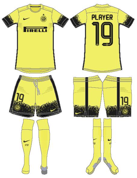Internazionale Milan Uniform Alternate Uniform (2015-2016) -  SportsLogos.Net