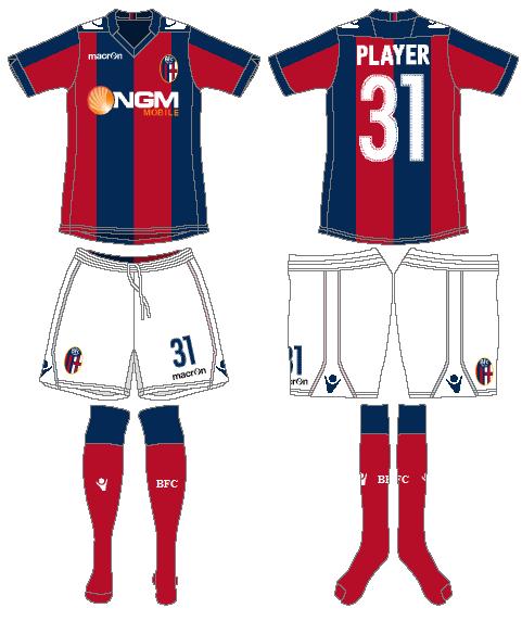 Bologna Uniform Home Uniform (2013-2014) -  SportsLogos.Net