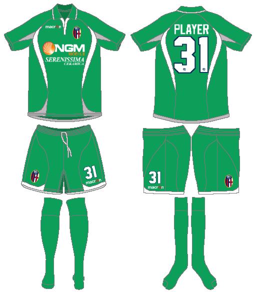 Bologna Uniform Special Event Uniform (2013) - 2013 Earth Day Kit SportsLogos.Net