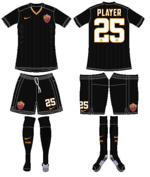 AS Roma Uniform Alternate Uniform (2014-2015) -  SportsLogos.Net