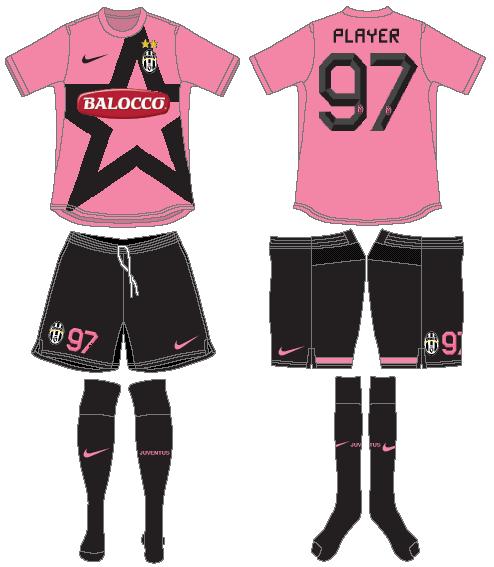 Juventus Uniform Road Uniform (2011-2012) -  SportsLogos.Net