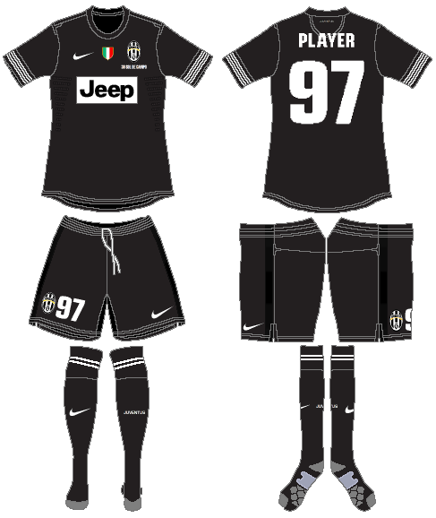 Juventus Uniform Road Uniform (2012-2013) -  SportsLogos.Net