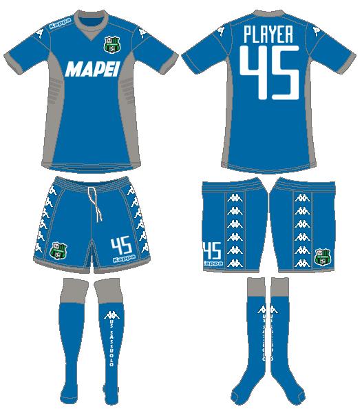 Sassuolo Uniform Alternate Uniform (2015-2016) -  SportsLogos.Net