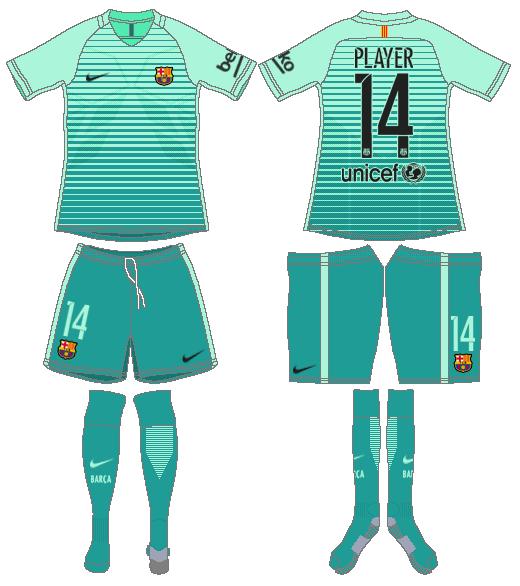 new arrival 6ef10 264e6 FC Barcelona Alternate Uniform - Spanish La Liga (Spanish La ...