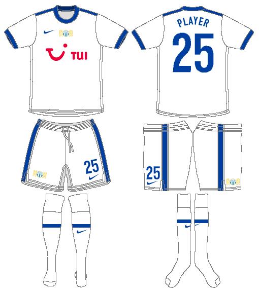 FC Zurich Uniform Home Uniform (2009-2010) -  SportsLogos.Net