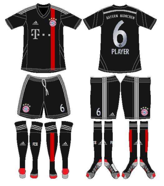 Bayern Munich Uniform Alternate Uniform (2014-2015) -  SportsLogos.Net