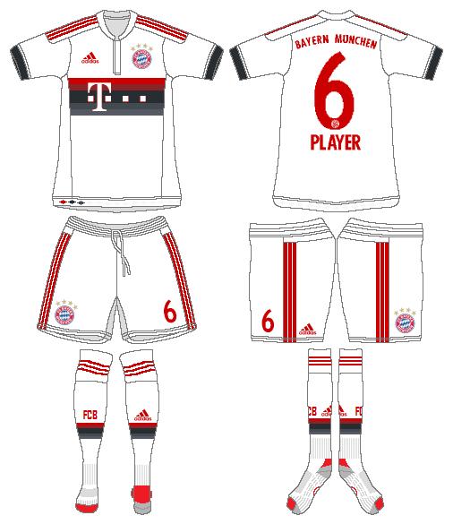 Bayern Munich Uniform Road Uniform (2015-2016) -  SportsLogos.Net