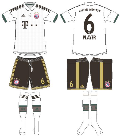 Bayern Munich Uniform Alternate Uniform (2013-2014) -  SportsLogos.Net