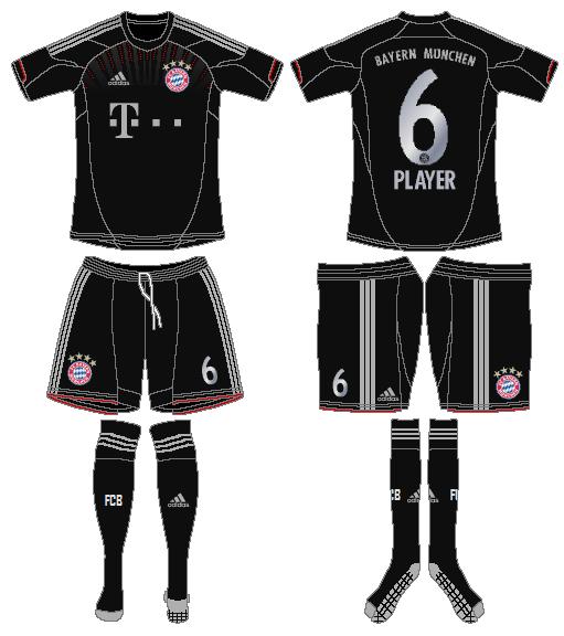 Bayern Munich Uniform Alternate Uniform (2012-2013) -  SportsLogos.Net