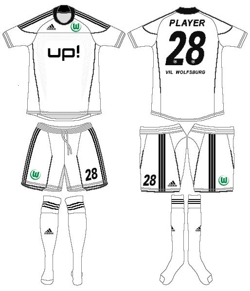Vfl Wolfsburg Uniform Alternate Uniform (2011-2012) -  SportsLogos.Net