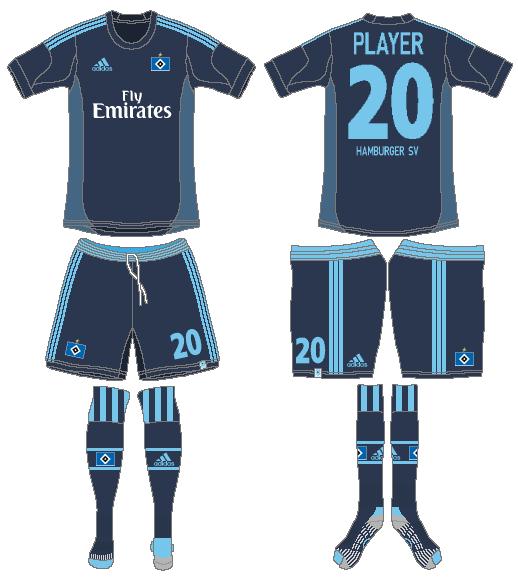 Hamburger SV Uniform Road Uniform (2013-2014) -  SportsLogos.Net