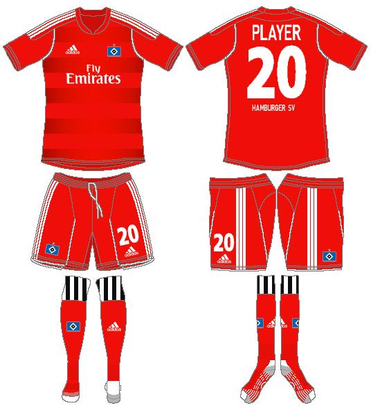 Hamburger SV Uniform Alternate Uniform (2011-2012) -  SportsLogos.Net