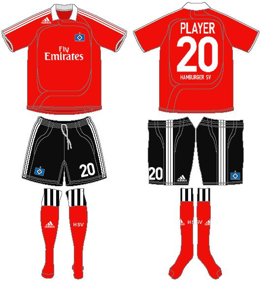 Hamburger SV Uniform Alternate Uniform (2007-2008) -  SportsLogos.Net