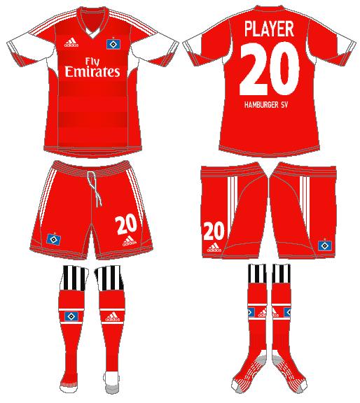 Hamburger SV Uniform Alternate Uniform (2013-2014) -  SportsLogos.Net