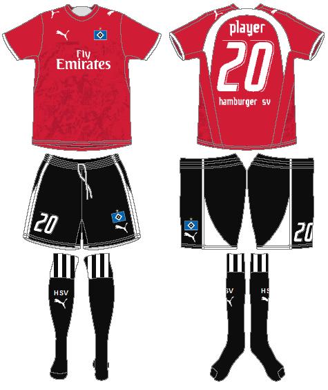 Hamburger SV Uniform Alternate Uniform (2006-2007) -  SportsLogos.Net