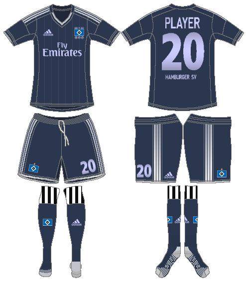 Hamburger SV Uniform Road Uniform (2012-2013) -  SportsLogos.Net
