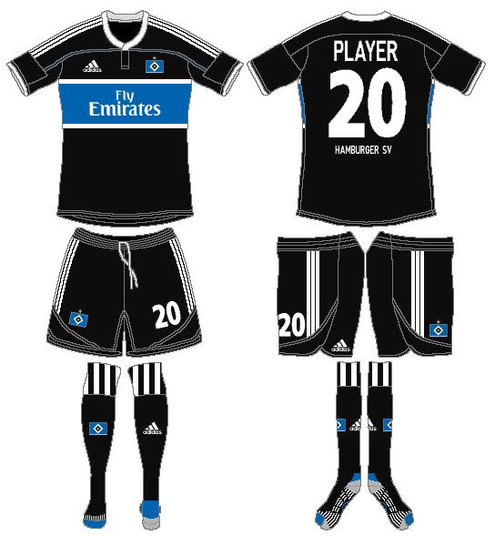 Hamburger SV Uniform Road Uniform (2011-2012) -  SportsLogos.Net