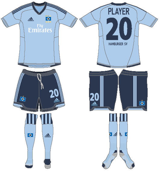 Hamburger SV Uniform Alternate Uniform (2012-2013) -  SportsLogos.Net