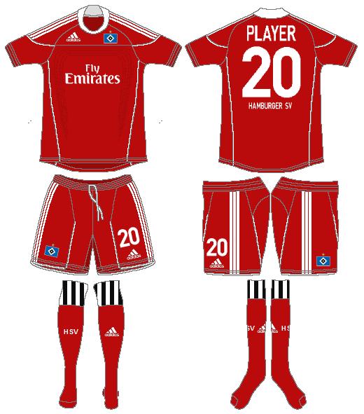 Hamburger SV Uniform Alternate Uniform (2010-2011) -  SportsLogos.Net
