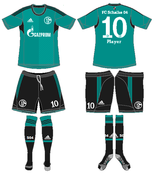 Schalke 04 Uniform Road Uniform (2013-2015) -  SportsLogos.Net