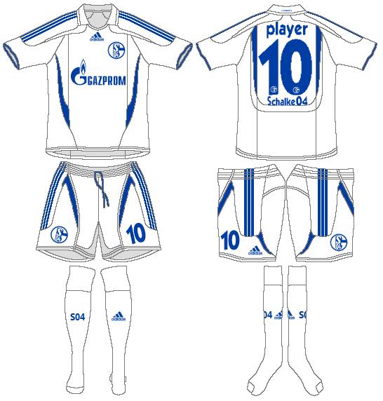 Schalke 04 Uniform Alternate Uniform (2007-2009) -  SportsLogos.Net