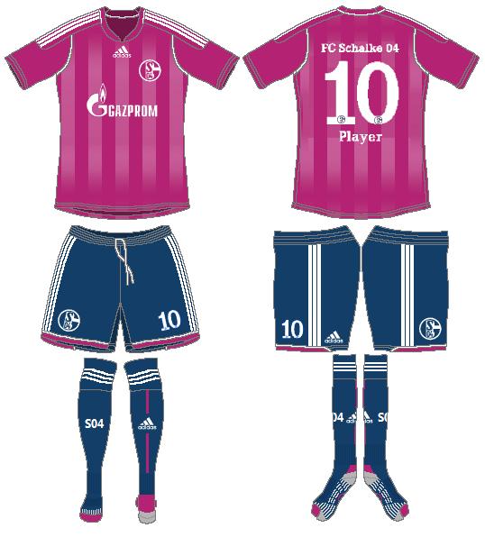 Schalke 04 Uniform Alternate Uniform (2012-2013) -  SportsLogos.Net