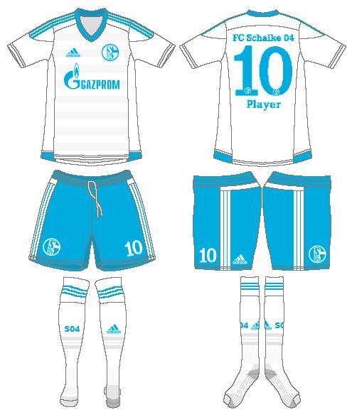 Schalke 04 Uniform Road Uniform (2015-2017) -  SportsLogos.Net