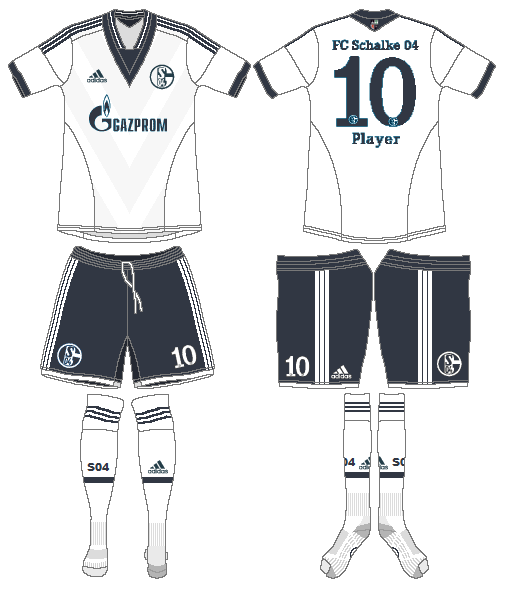 Schalke 04 Uniform Alternate Uniform (2013-2015) -  SportsLogos.Net