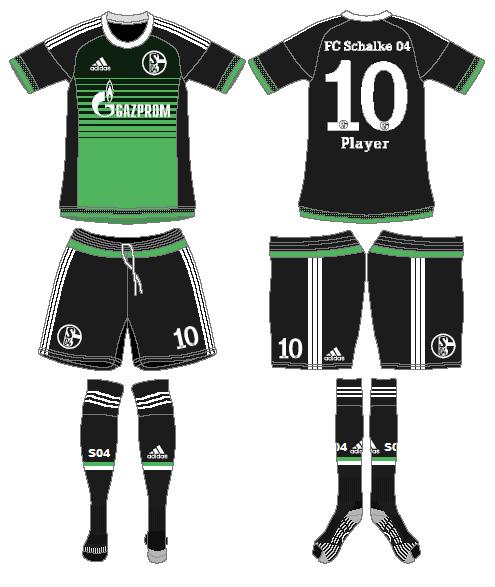 Schalke 04 Uniform Alternate Uniform (2015-2017) -  SportsLogos.Net
