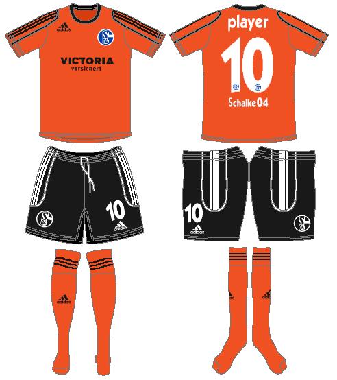 Schalke 04 Uniform Alternate Uniform (2006-2007) -  SportsLogos.Net