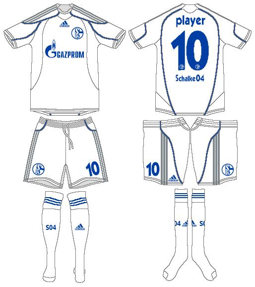 Schalke 04 Uniform Alternate Uniform (2009-2011) -  SportsLogos.Net