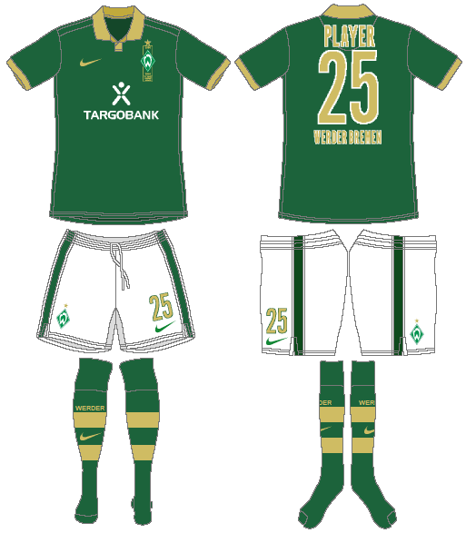Werder Bremen Uniform Special Event Uniform (2010) -  SportsLogos.Net